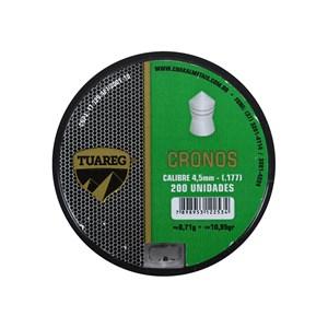 Chumbinho Cronos 4.5mm 200un. - Tuareg