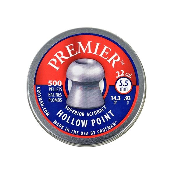 Chumbinho Crosman Hollow Point Premier 5.5mm 500un.