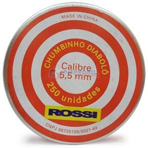 Chumbinho Diabolô 5.5mm 250un. - Rossi