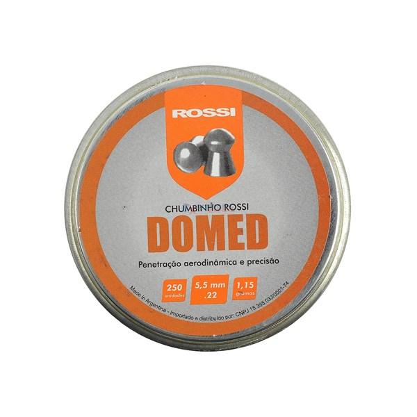 Chumbinho Domed 5.5mm 250un. - Rossi