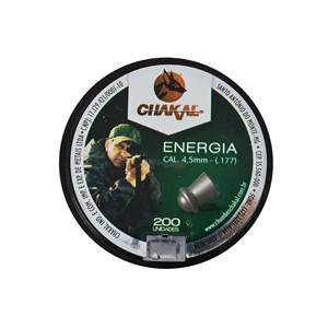 Chumbinho Energia 4.5mm 200un. - Chakal