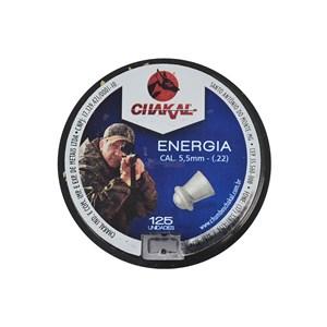 Chumbinho Energia 5.5mm 125un. - Chakal