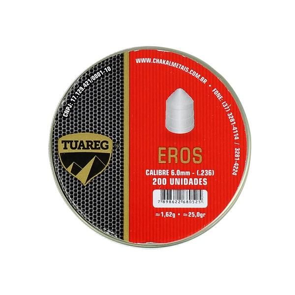 Chumbinho Eros 6.0mm 200un. - Tuareg