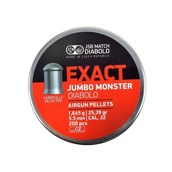 Chumbinho Exact Jumbo Monster 5.5mm 200un. - JSB