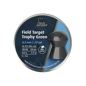 Chumbinho Field Target Trophy Green 5.5 mm 200un - H&N