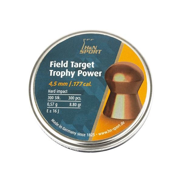 Chumbinho Field Target Trophy Power 4,5mm 300un - H&N