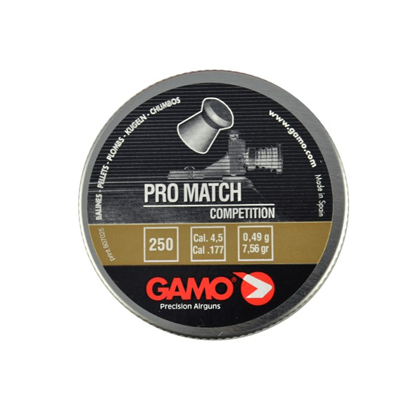 Chumbinho Gamo Pro Match Competition 4.5mm 250un.