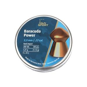 Chumbinho H&N Baracuda Power 5.5mm 200un.