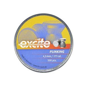 Chumbinho H&N Excite Plinking 4.5mm 500un.