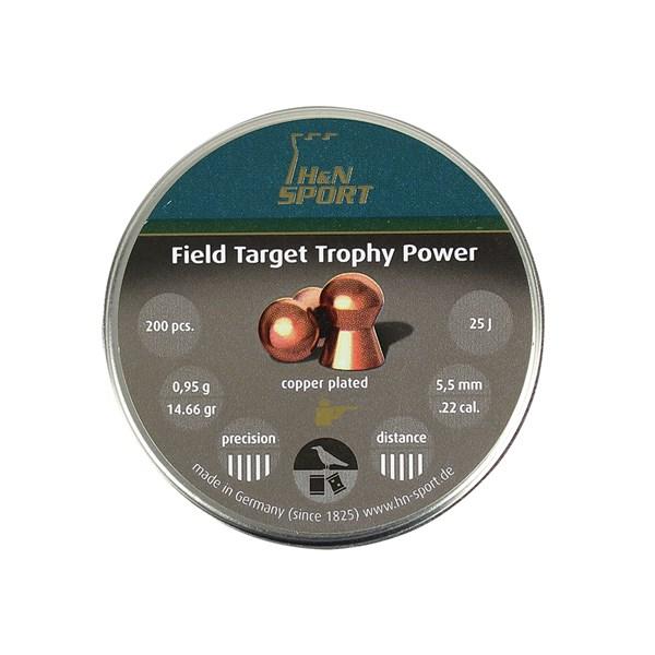 Chumbinho H&N Field Target Trophy Power 5.5mm 200un.
