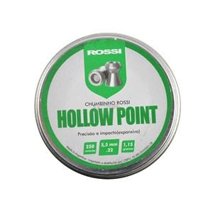 Chumbinho Hollow Point 5.5mm 250un. - Rossi