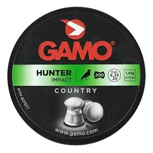 Chumbinho Hunter Impact 21.75gr 6.35mm 200un. - Gamo