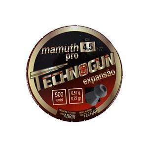 Chumbinho Mamuth Pro 4.5mm 500un. - Technogun