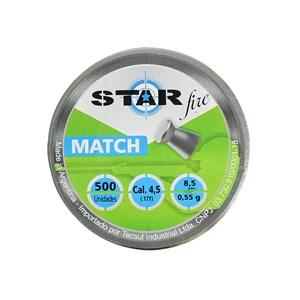 Chumbinho Match 4.5mm 500un. - Star Fire