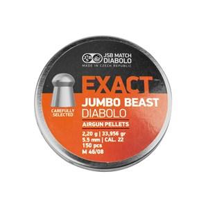 Chumbinho Match Exact Jumbo Beast Diabolo 5.5mm 150un. – JSB