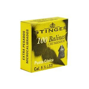 Chumbinho MD Ponta Conic 5.5mm 100un. - Stinger