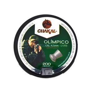 Chumbinho Olímpico 4.5mm 200un. - Chakal