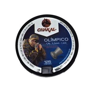 Chumbinho Olímpico 5.5mm 125un. - Chakal