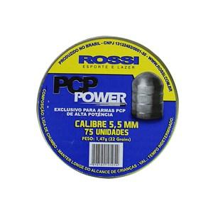 Chumbinho PCP Power 5.5mm 75un. - Rossi