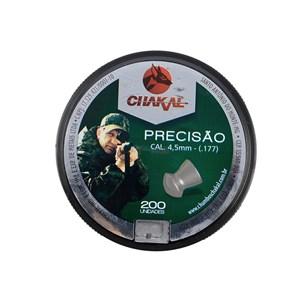 Chumbinho Precisão 4.5mm 200un. - Chakal