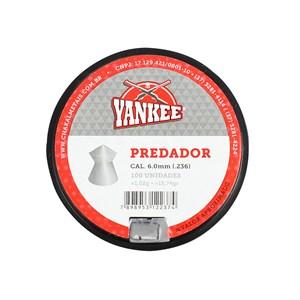 Chumbinho Predador 6.0mm 100un. - Yankee