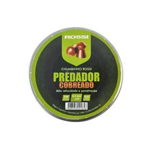 Chumbinho Predador Cobreado 4.5mm 250un. - Rossi