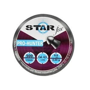 Chumbinho Pro Hunter 4.5mm 500un. - Star Fire