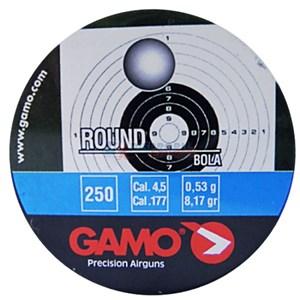 Chumbinho Round 4.5mm 250un. - Gamo