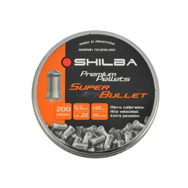Chumbinho Shilba Super Bullet 5.5mm 200un.