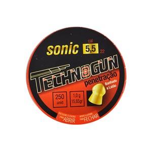 Chumbinho Sonic Latonado 5.5mm 250un - Technogun