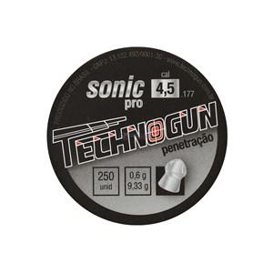 Chumbinho Sonic Pro 4.5mm 250un. - Technogun