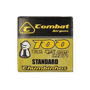 Chumbinho Standard 4.5mm 100un. - Combat