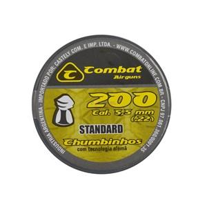 Chumbinho Standard II 5.5mm 200un. - Combat