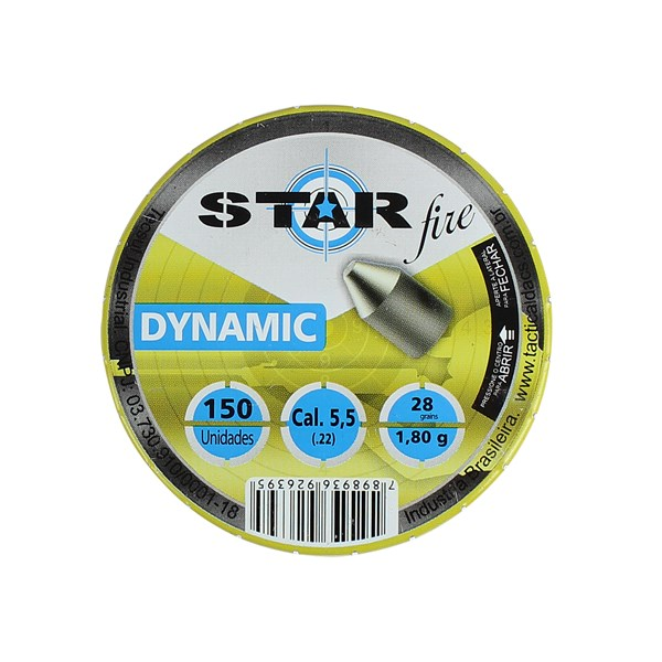 Chumbinho Star Fire Dynamic 5.5mm 150un.