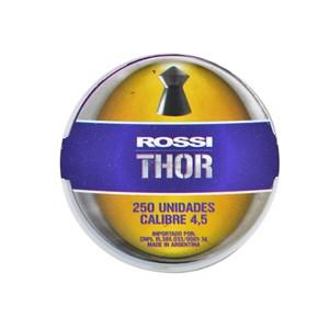 Chumbinho Thor II 4.5mm 250un. - Rossi