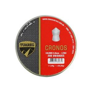 Chumbinho Tuareg Cronos 6.0mm 200un.