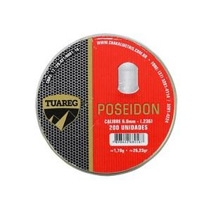 Chumbinho Tuareg Poseidon 6.0mm 200un.