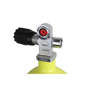 Cilindro de Alumínio Scuba Rossi para Carabina PCP 9,96 Litros (213 BAR)