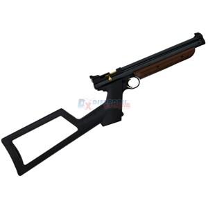 Combo Pistola de Pressão Crosman 1377C 4.5mm + Extensor de Coronha Crosman