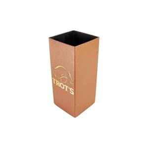 Copo Para Tereré Quadrado Aço Inoxidável Rose 250ml - Trot's