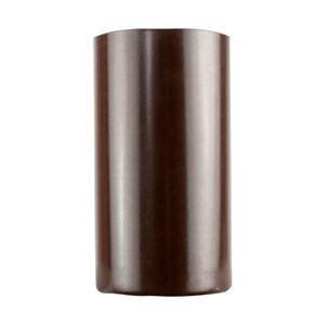 Copo Para Tereré Redondo Aço Inoxídavel Marrom 250ml  - Trot's