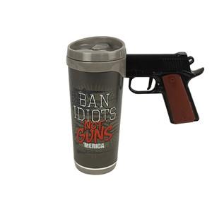 Copo Pistol Mug Ban Idiots Rivers Edge 473ml - Nautika