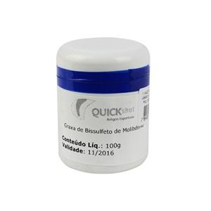Graxa Bissulfeto de Molibdênio (Pasta G) 100g - Quick Shot