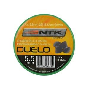 Kit 04 Caixas Chumbinho Nautika Variados 5.5mm