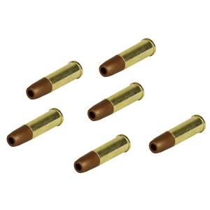 Kit 06 Cápsulas Cartuchos Revólver CO2 6mm - Win Gun