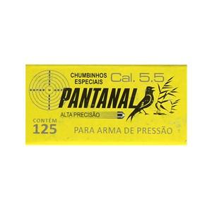 Kit 10 Chumbinhos Pantanal 5.5mm 125un.