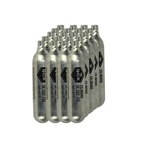 Kit 20 Cápsulas de CO2 Descartável Unitário 12g - QGK