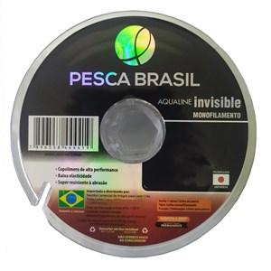 Linha Monofilamento Aqualine Invisible 100mm - Pesca Brasil