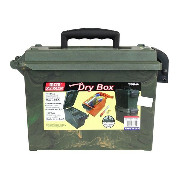Maleta MTM SDB Dry Box Verde