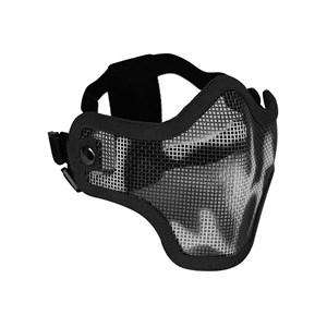 Máscara de Proteção Airsoft Meia Face Black